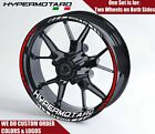 Ducati Hypermotard 939 Wheel Decals Rim Stickers 950 Hypermotard 796 1100 821