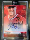 Mike Trout Signs Exclusive Autograph Deal with Topps 14