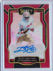 2018 Panini Select Ricky Watters Maroon Prizm Parallel Auto 10 25