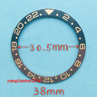 38mm Baffle: ceramic  Ceramic Bezel Inset Fit for 40mm Submariner Watch  056a