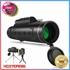 HD Monocular Starscope Phone Camera Zoom Lense+Tripod Bag Phone Mount Telescope