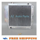 For POLISHED 3 Rows 1987 2006 Jeep Wrangler YJ TJ Aluminum Radiator