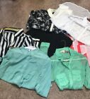 Lot Of 7 Blouses Size M XL
