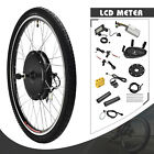 36 48V Electric Bicycle Front Rear Wheel E bike Conversion Kit Cycling Motor 26