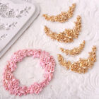 Rose Flower Garland Silicone Mold Cake Border Jewelry Wedding Decorating Tools G