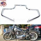 Engine Guard Crash Bar Highway For Harley Heritage FLST Softail Fat Boy Chrome