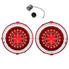 United Pacific LED Tail Light Set 1970 1973 Chevy Camaro With LED Flasher