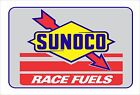 SUNOCO RACE FUELS Aluminum Sign 12
