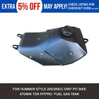Black Gas Petrol Fuel Tank with Cap for 200cc 250cc Hummer Style Dirt Pit Bike