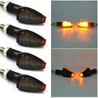 4x Black Turn Signal LED Dual Sports Motorcycle dirt bike light blinker mx mini