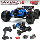 ARRMA ARA106040T2 1/8 KRATON 6S BLX 4WD Brushless Speed Monster Truck RTR Blue