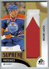 2017-18 Upper Deck SP Game Used Milan Lucic Supreme Patches Jumbo Patch 14 15