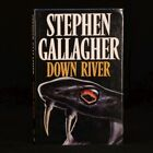 1989 Stephen Gallagher Down River Signed First Edition Crime Novel