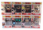 Funko Pop Incredibles 2 Full Set 8 Pops Including Target Exclusive Elastigirl
