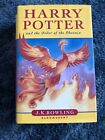 Harry Potter and the Order of the Phoenix by J K Rowling Cast Signed