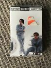 RARE SAVAGE GARDEN I WANT YOU CASSETTE SINGLE, STILL NEW AND SEALED, OOP