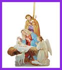 Praying Angel Laminated Cardstock Nativity Ornament W Bible Ve Home