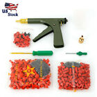 Tire Repair Plugger Tire Wheel Repair Gun Kit Mushroom Plug Probe Nozzle US Ship