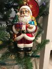 NWT CHRISTOPHER RADKO CLASSIC HEAVY LOAD Santa Claus $56 Christmas Ornament