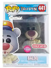 New Funko Pop Disney Talespin Flocked Baloo #441 Target Exclusive In Hand