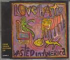 LOVE HATE Wasted In America CD UK Columbia 1992 4 Track Pic Disc B/w Time's Up