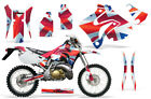 Dirt Bike Graphic Kit Decal Sticker Wrap For Honda CRM250AR 1996-1999 UNION JACK