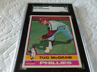 1976 TOPPS # 565 TUG McGRAW SGC 84 PHILLIES BASEBALL !!