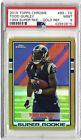 2015 Topps Chrome 1989 Super Rookie #89-TG Gold Ref 39 75 Todd Gurley PSA Mint 9