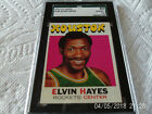 1971 72 TOPPS # 120 ELVIN HAYES SGC 82 ROCKETS BASKETBALL !!