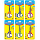 New 402808 5 3 4 Inch Soft Grip Kids Scissors 24 Pack Scissors Cheap
