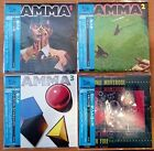 GAMMA - 4 SHM CD Set mini-LP (Japan) RARE NEW