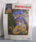 New Sealed DIMENSIONS Linda Powell SWEET NATIVITY STOCKING Needlepoint Kit 9104