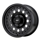 4 15 inch AR62 Jeep Wrangler 1987 2006 YJ TJ Black WHEELS RIMS 6mm 15x7 5x45
