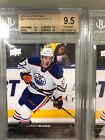2015-2016 Upper Deck Young Gun Connor McDavid Rookie! BGS 9.5!Perfect Sub-Grades
