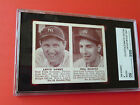 1941 DOUBLE PLAY PHIL RIZZUTO ROOKIE LEFTY GOMEZ SGC 50 NICE CENTERING