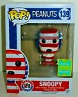 SNOOPY (Patriotic) - Peanuts Funko Pop - 2016 Summer Convention Exclusive SDCC