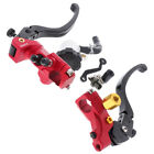 Handle Brake Clutch Levers for 90 150CC Dirt Bike Motorcycle ATV Red
