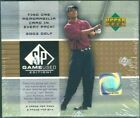 2003 Upper Deck SP Game Used GOLF sealed hobby 12-box case Tiger Woods autograph