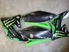 Kawasaki KX250F Plastics Kit, Shrouds Side Plates, Fairings, Rear Fender, Seat