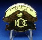 HARLEY OWNERS GROUP HOG HANNUT CHAPTER BELGIUM Pin NOS Sealed
