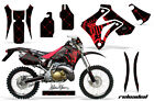 Graphic Kit Decal Sticker Wrap + # Plates For Honda CRM250AR 96-99 RELOADED R K