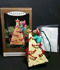 Hallmark CHRIS MOUSE TREE Magic Series Ornament NEW in box LIGHTS UP 1995 11th