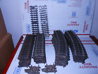 LIONEL SUPER O 16 CURVES 10 STRAIGHT 2 INS STRAIGHT 2 UNCOUPLING SECTIONS
