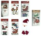 CHRISTMAS Santa Claus Paper Bliss Stickers PICK Sleigh Chimney Presents Roof