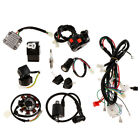150cc 250cc ATV Electric Wiring Harness Loom Stator CDI Spark Plug Kit