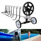 Inground Swimming Pool Cover Blanket Reel 20 FT Wide Stainless Steel for Roller