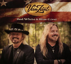VAN ZANT-RED WHITE & BLUE (LIVE) (UK IMPORT) CD NEW