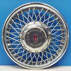 ONE Late 1990 1993 Oldsmobile Ciera  4106B 14 Wire Hubcap Wheel Cover USED