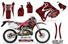 Dirt Bike Graphic Kit Decal Sticker Wrap For Honda CRM250AR 1996-1999 HISH RED