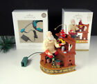 2012 Once Upon a Christmas TIME for TOYS Hallmark Ornament w/ Box and MAGIC CORD